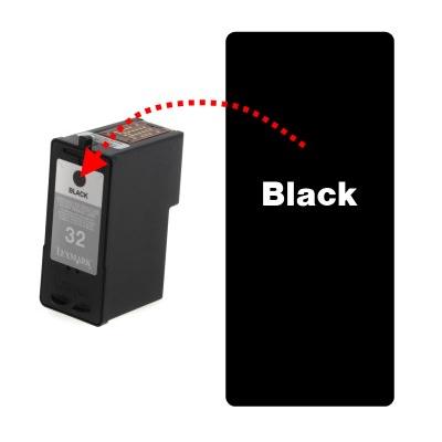 refilling lexmark black 3 32 34 36a 36xla 14a 42a 44xl rh refreshcartridges co uk Lexmark X7550 Printer Drivers Ink for Lexmark Printers All in One Printer Model X4875