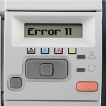 HP LaserJet Error 11 – Out of Paper