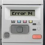 HP LaserJet Error 14 – No EP cartridge
