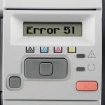 HP LaserJet Error 51 – Beam Detect Error