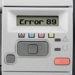 HP LaserJet Error 89 – Accessory Error