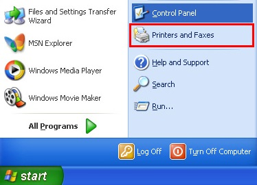 "How to Make Your ""Offline"" Printer ""Online"" (Windows XP)"