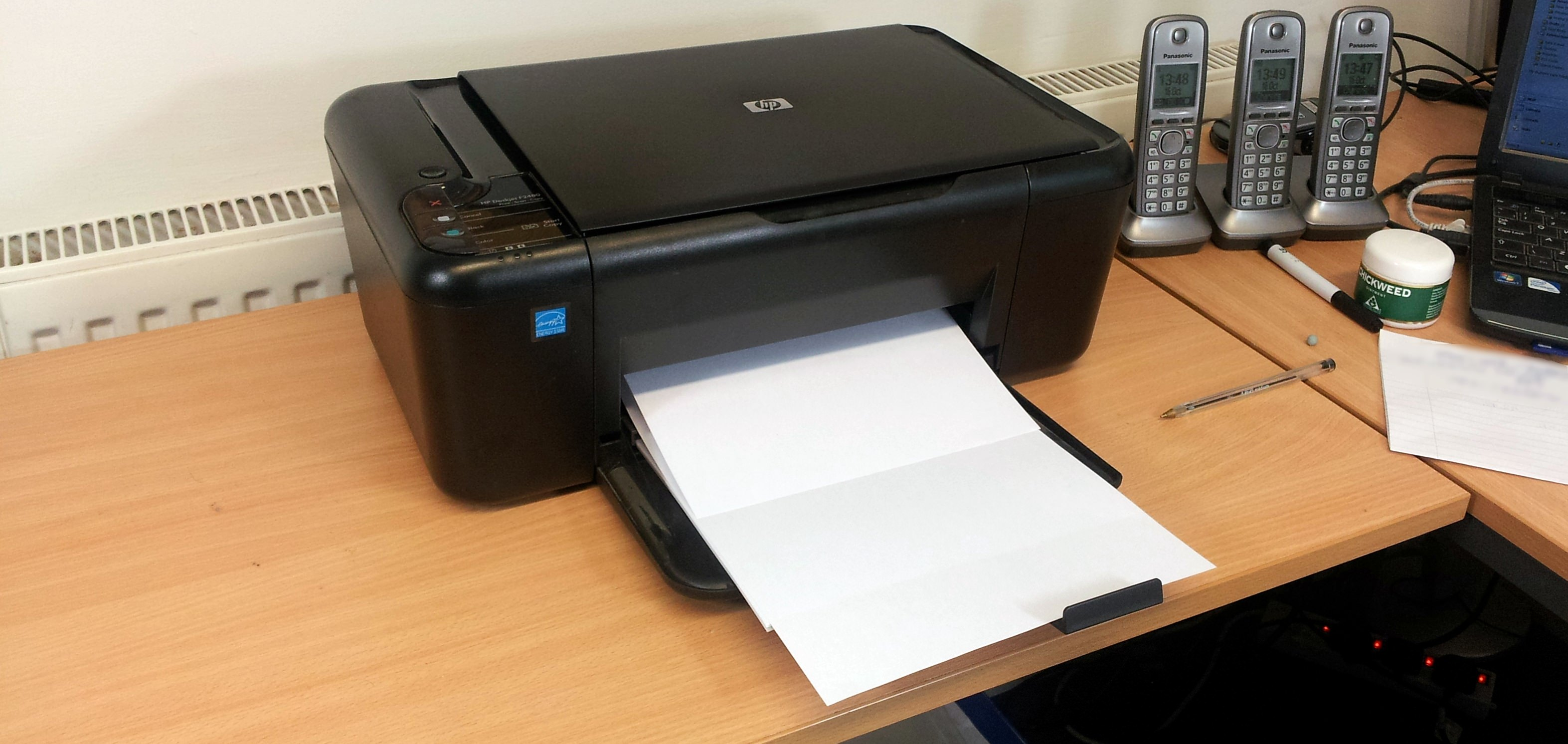 Pages Printing Out Blank One Or More Colours Missing