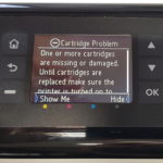 "Clearing the HP ""Cartridge Problem"" Error Message with Firmware Update"