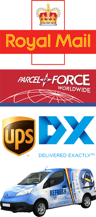 Royal Mail, ParcelForce & DPD Logos