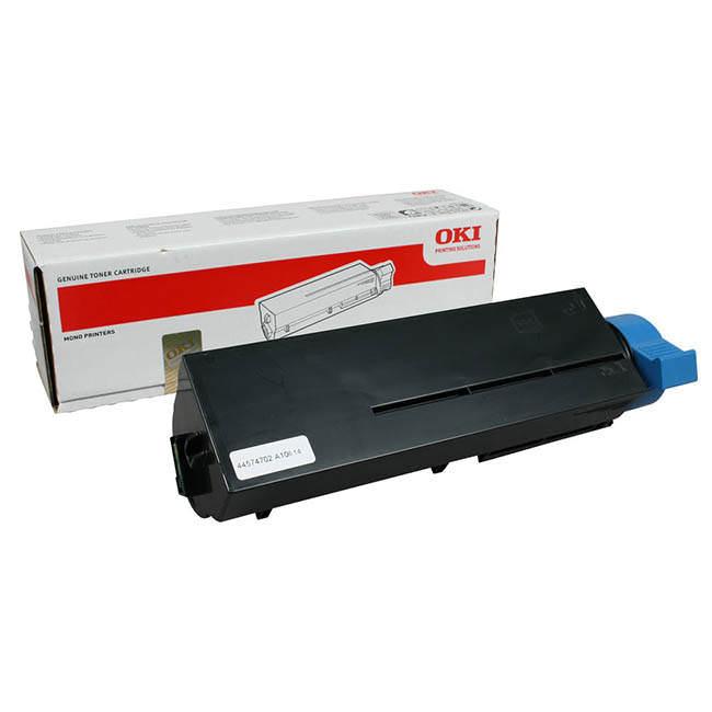 Original Oki 44574702 Black Toner Cartridge (44574702)