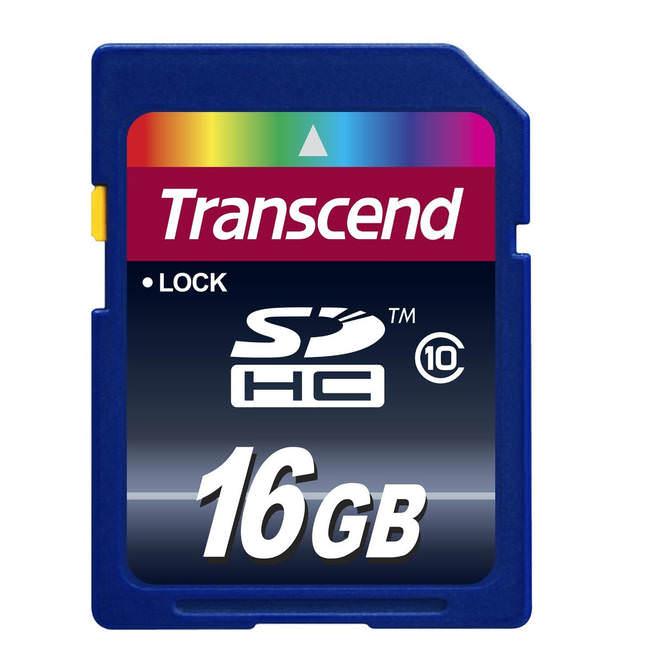 Transcend 16gb Sdhc Class 10 Premium Memory Card (ts16gsdhc10)
