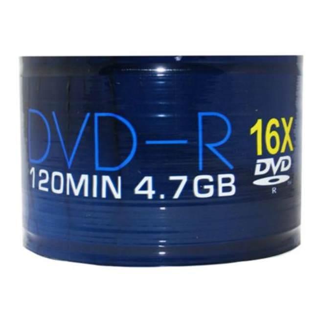 Aone 16x Dvd-r 4.7gb - 50 Discs
