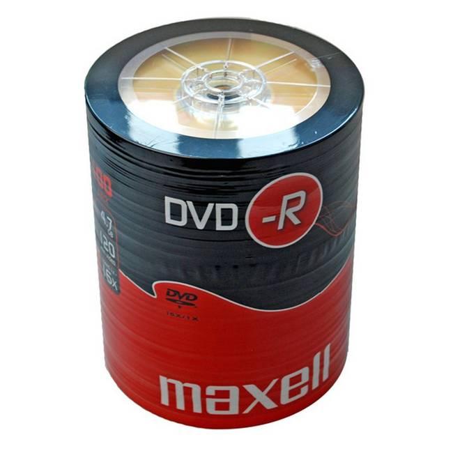 Maxell 16x Dvd-r 4.7gb - 100 Discs (275733)