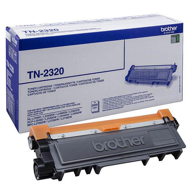 Original Brother Tn2320 High Capacity Black Toner Cartridge (tn-2320)