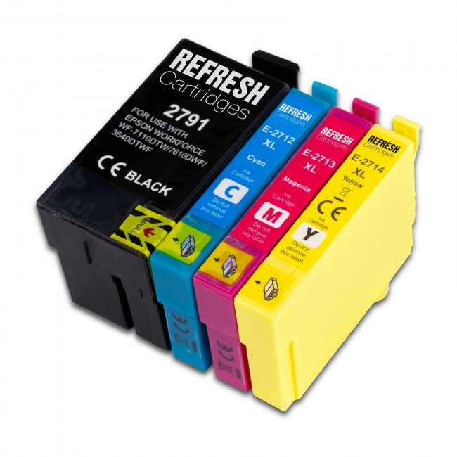 epson 27xxl 27xl remanufactured ink cartridge multipack. Black Bedroom Furniture Sets. Home Design Ideas