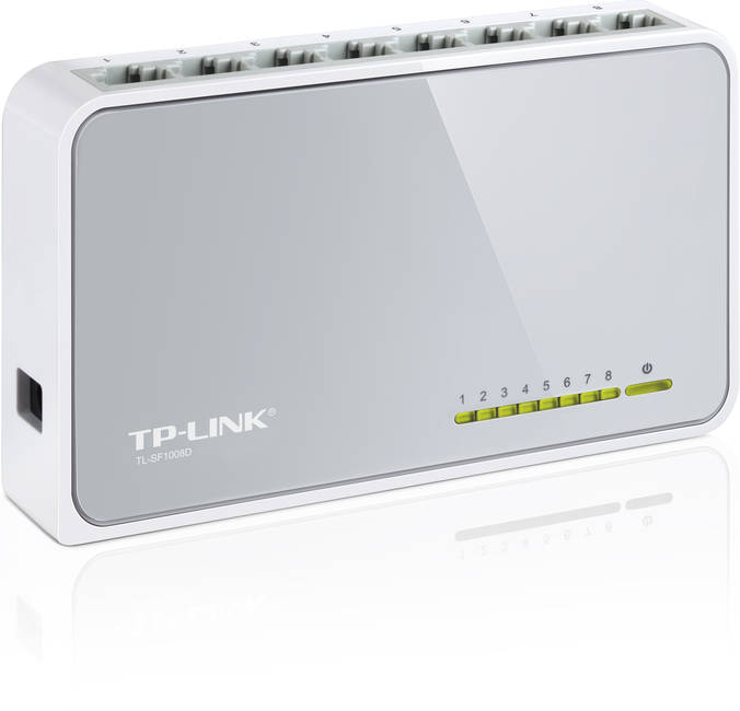 Tp-link 8-port 10/100 Unmanaged Desktop Switch (tl-sf1008d)