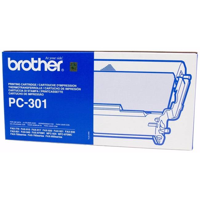 Original Brother Pc-301 Ribbon Cartridge (pc301)