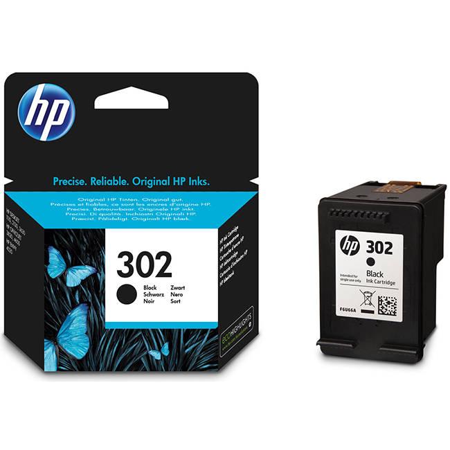 הגדול Original HP 302 Black Ink Cartridge TD-05
