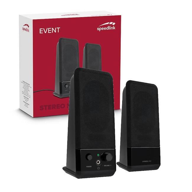 Speedlink Event Usb Powered Stereo Computer Pc Speakers