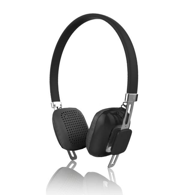 Psyc Orchid Stylish Wireless Bluetooth Headphones - Black (headphone-psyc-orchid-b)
