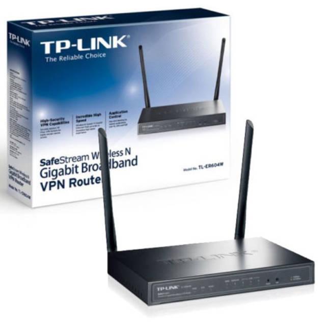 Tp-link Tl-er604w Wi-fi Ethernet Lan Black Router