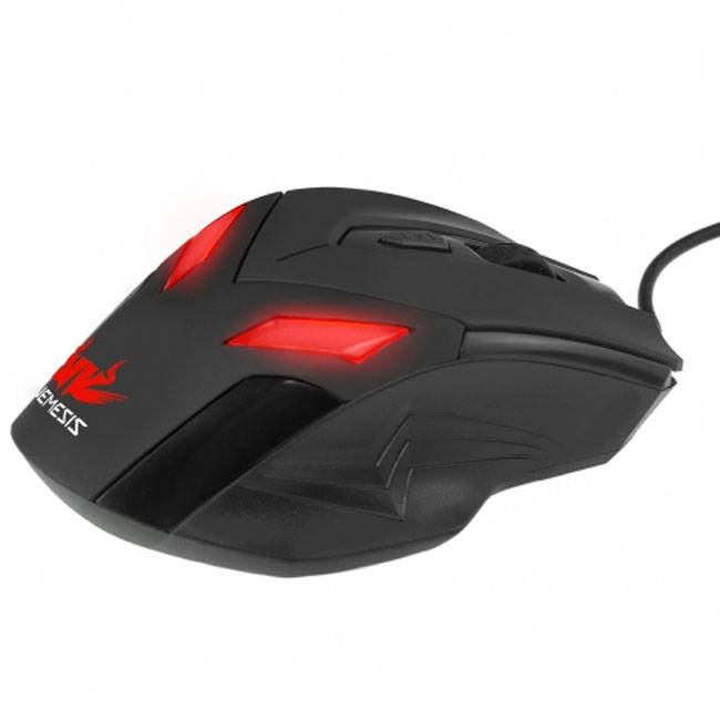 Sumvision Nemesis Zark Wired Gaming Mouse Adjustable Dpi & Colour Changing Led (mouse-led-zark)