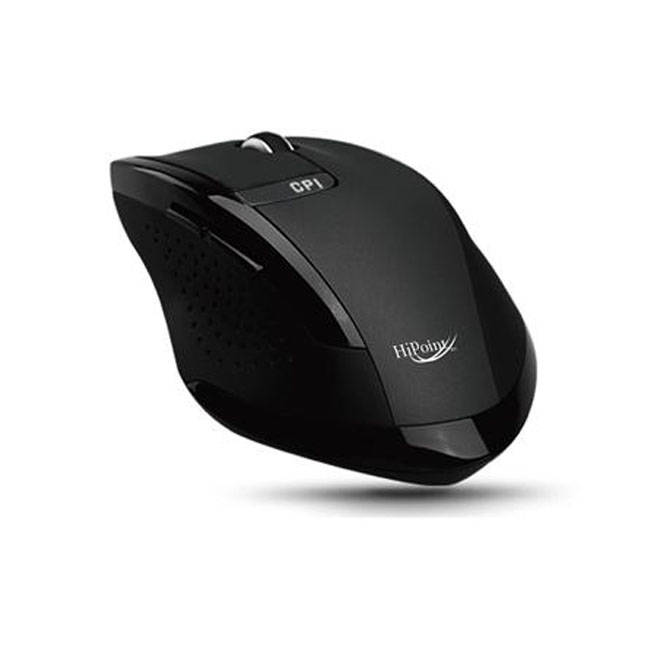 Hi Point 2.4ghz Cordless 6 Button Rubber Coated Optical Mouse (bx6600)