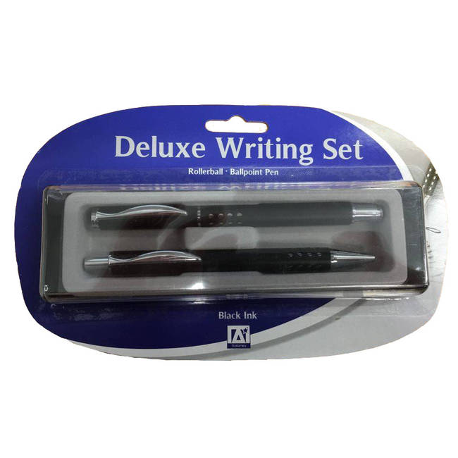 Anker Deluxe Writing Set With Rollerball And Ballpoint Pen - (wdq/2)