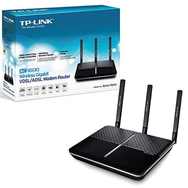 TP-LINK Archer VR600 AC1600 WIFI Dual Band Router