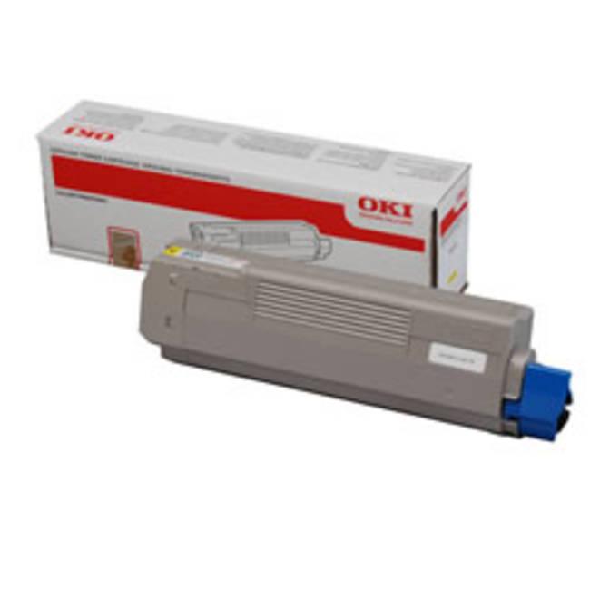 Original Oki 44059165 Yellow Toner Cartridge (44059165)
