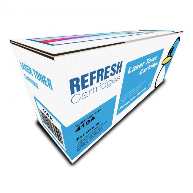CF410A//1A//3A//2A PACK TONER COMPATIBLE WITH HP PRINTERS REFRESH CARTRIDGES 410A