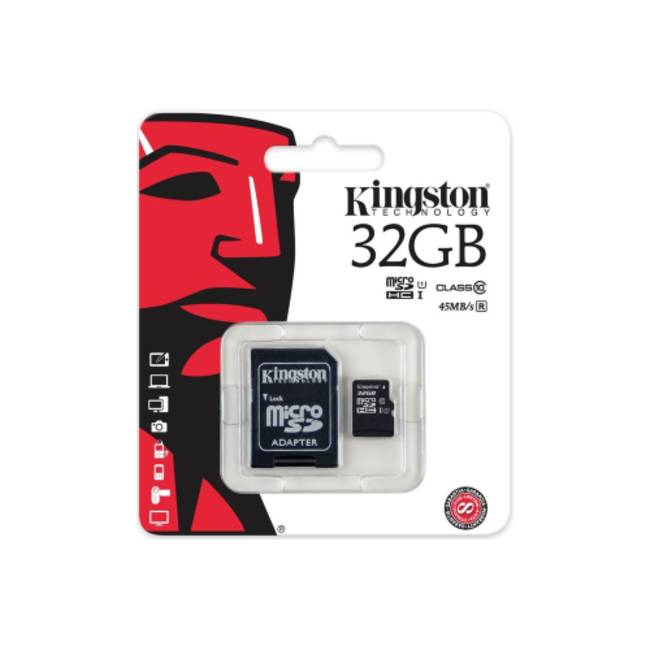 Kingston 32gb Micro Sdhc Class 10 Memory Card (sdc10g2/32gb)