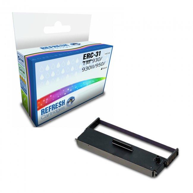 Compatible Epson Erc-31 Black Ink Ribbon Cartridge (c43s015369)