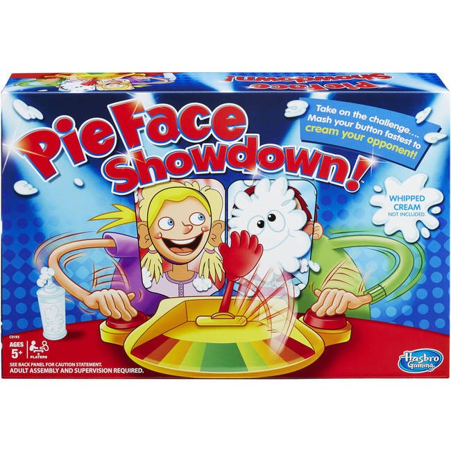 Pie Face Showdown Party Game By Hasbro