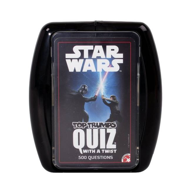 Top Trumps Quiz Game Star Wars Edition By Winning Moves