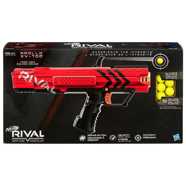 Nerf Rival Precision Battling Apollo Xv-700 Blaster Gun - Red