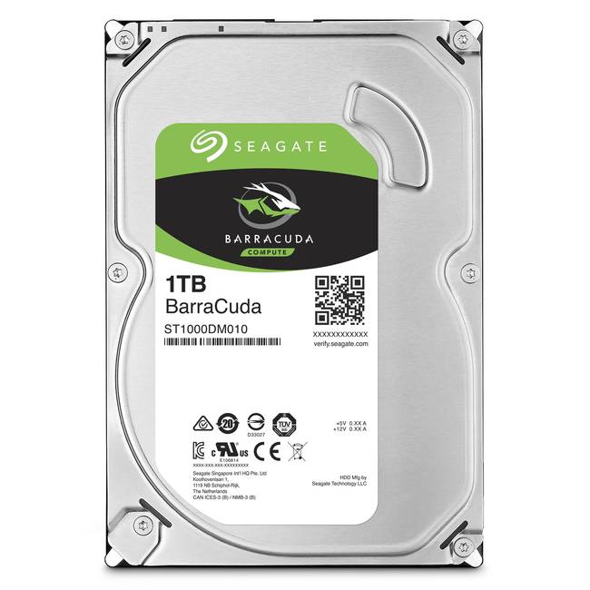 "Seagate Barracuda 1tb Sata 3.5"" Internal Hard Drive"