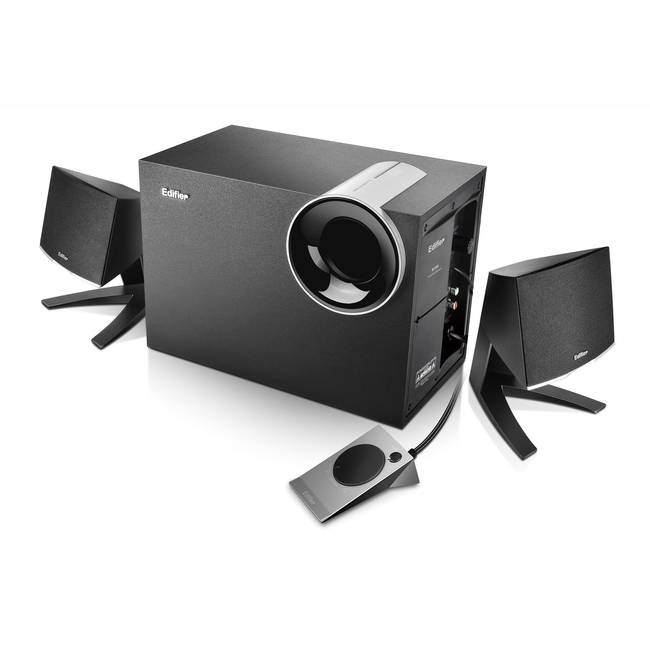 Edifier 2.1 Multimedia Speaker System With Subwoofer (m1380)