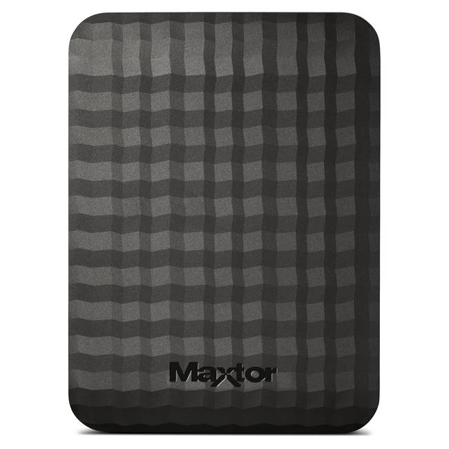"Maxtor 500gb External Usb 3.0 Portable 2.5"" Hard Drive (hx-m500tcb/gm)"