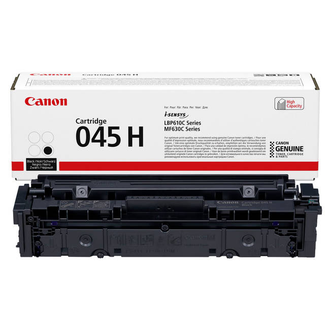 Black Canon 045 Toner Cartridge