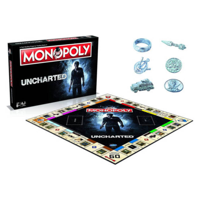 Monopoly Uncharted Edition Board Game By Winning Moves