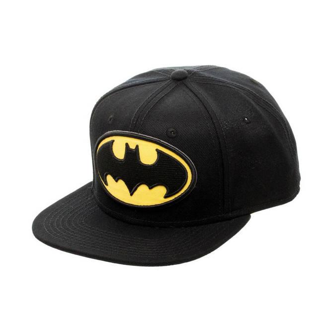 63679cf522 DC Comics Official Batman Logo Snapback Baseball Cap Black (SB089CBTM) DC  ComicsSB089CBTM