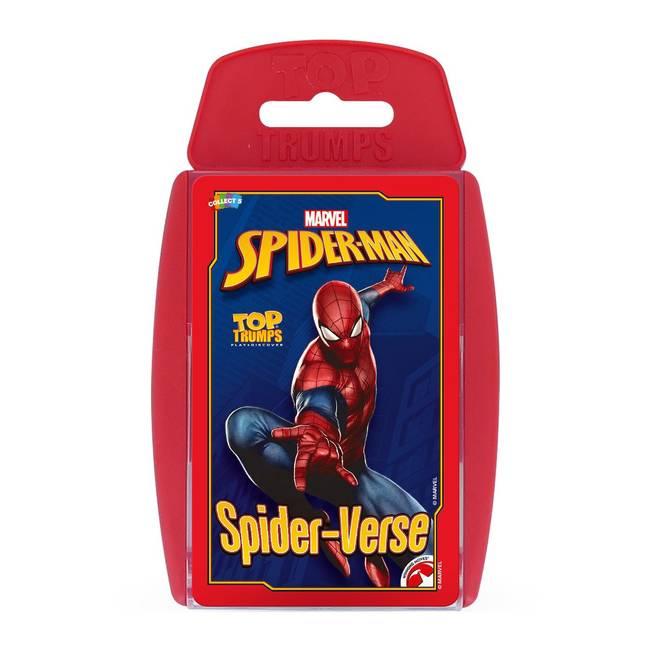 Top Trumps - Marvel Spider-man Spider-verse