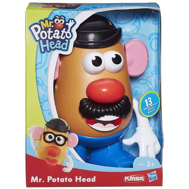 Mr Potato Head Toy With 11 Accessories By Hasbro Playskool Playskool27657