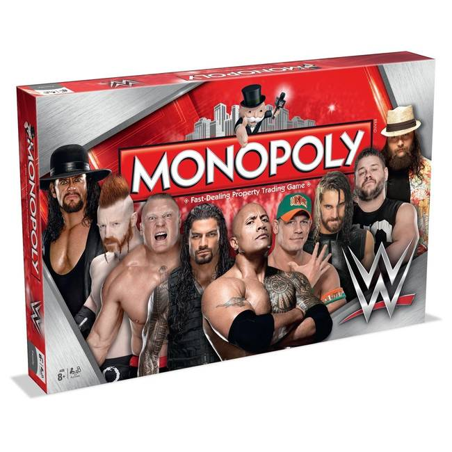 Monopoly Wwe Wrestling Edition Board Game By Winning Moves