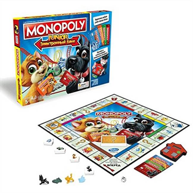 Monopoly Junior Electronic Banking By Hasbro Gaming