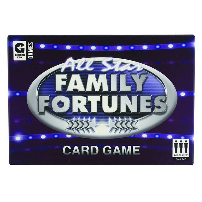 All Star Family Fortunes ITV TV Show Based Card Game by Ginger FoxGinger  Fox0717