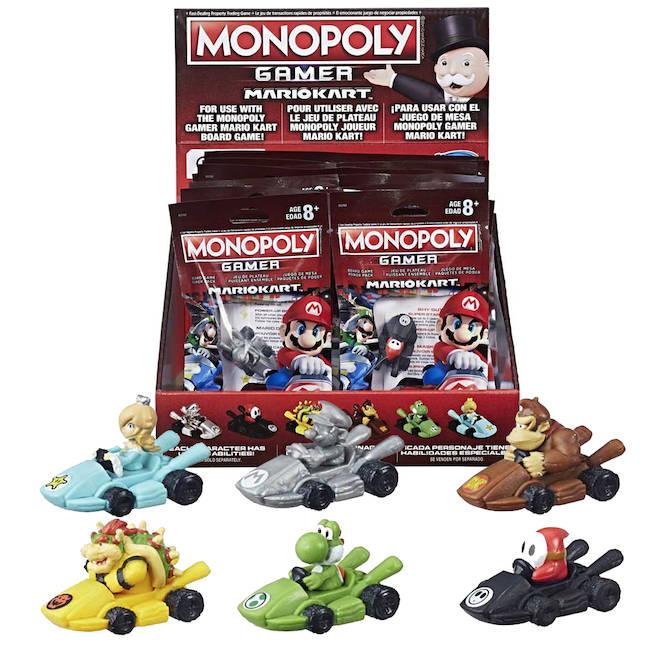 Monopoly Gamer Nintendo Mario Kart Power Pack Figure By Hasbro