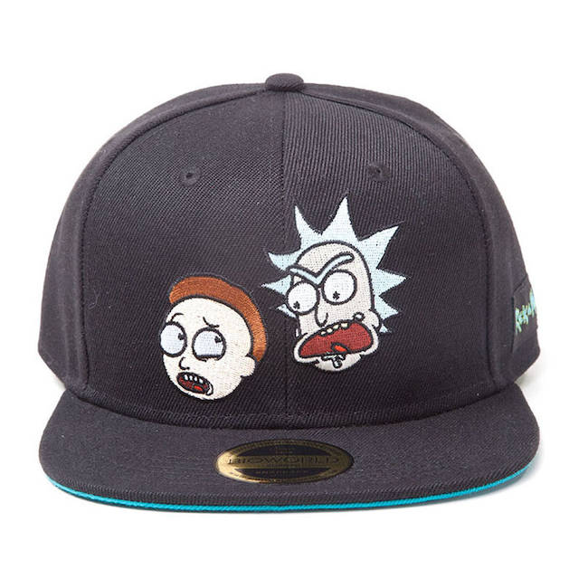 Rick and Morty Embroidered Snapback Baseball Cap 2f95f7eb739b