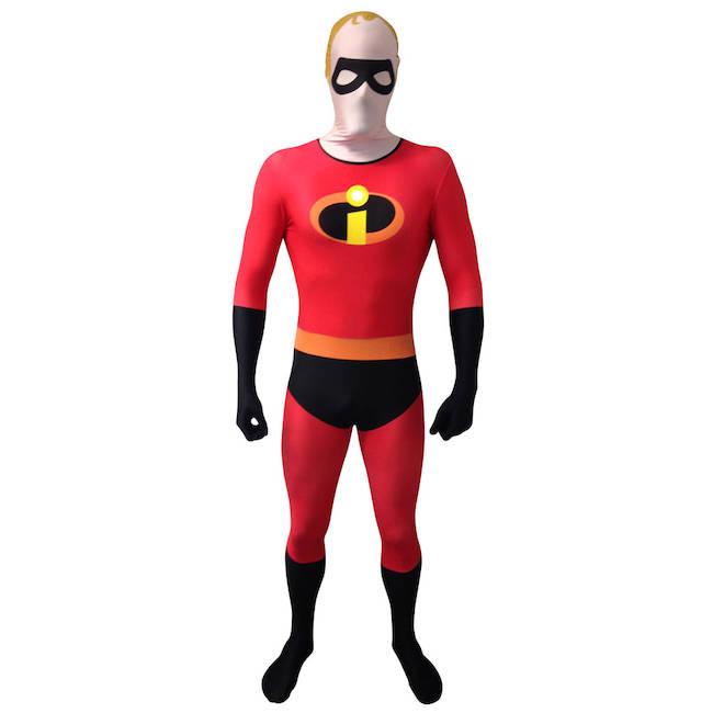 sc 1 st  Refresh Cartridges & Disney Pixar Mr Incredible Adult Cosplay Costume Morphsuit - Large