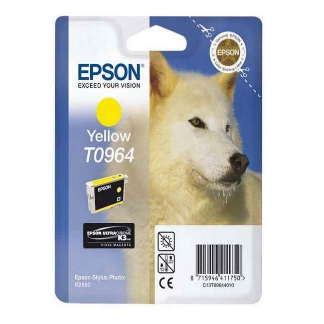 Original Epson T0964 Yellow Ink Cartridge (c13t09644010)