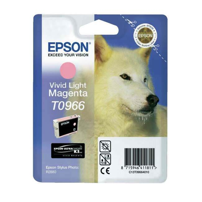 Original Epson T0966 Light Magenta Ink Cartridge (c13t09664010)