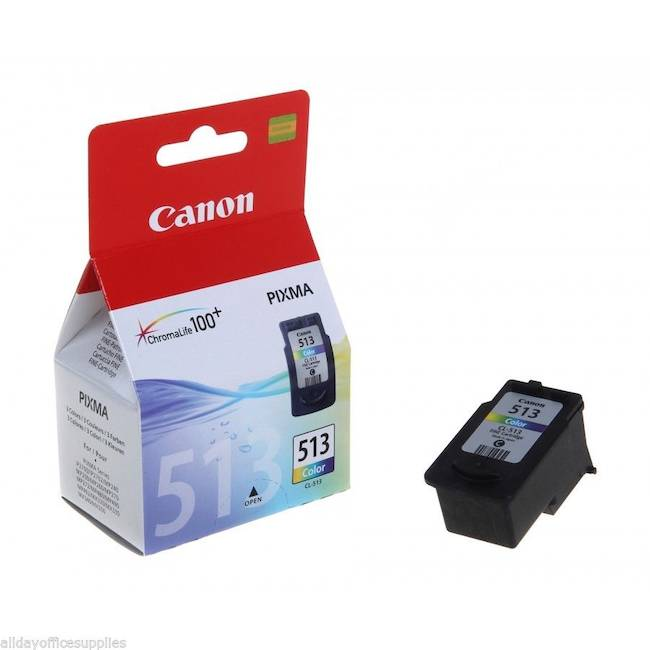 Original Canon Cl-513 Colour High Capacity Ink Cartridges (2971b001aa)