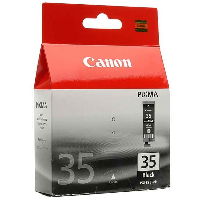 Original Canon Pgi-35bk Black Ink Cartridge (1509b001)
